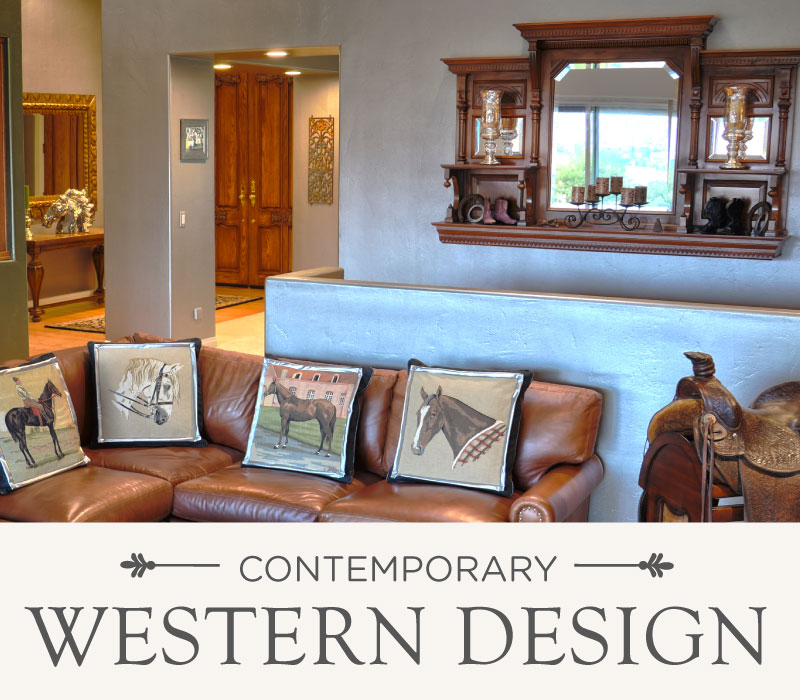 Contemporary Western Design | Luxury Ranch