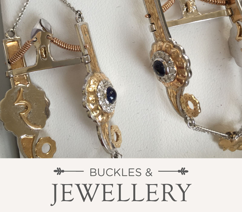 Buckles & Jewellery | Luxury Ranch Interior Design & Ranch Art Furnishings