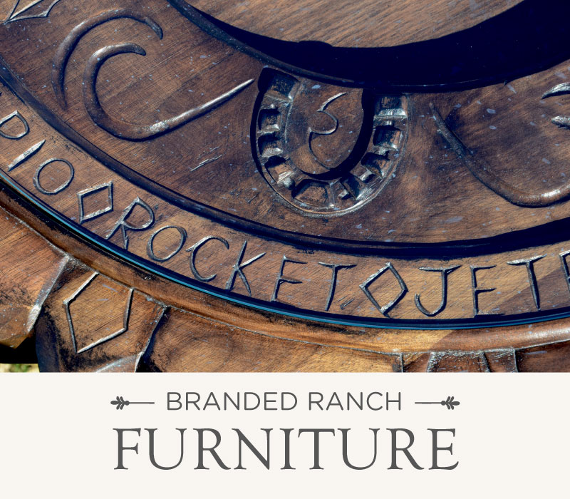 Branded Ranch Furniture | Luxury Ranch Interior Design